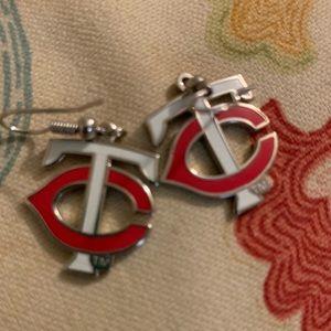 Teurlings Catholic High School Earrings.